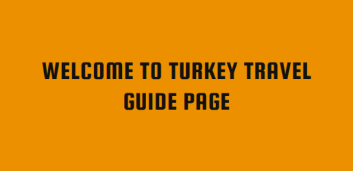 Turkey Travel Guide Personal